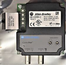 Allen Bradley 20-COMM-C  Controlnet Adapter Ser. B Firmware V 2.001 Tested Good
