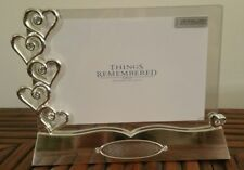Things Remembered Everlasting Love Floating Frame Silver Swarovski - New In Box