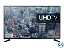 "SAMSUNG 65"" 65KU6000 4K SMART FLAT LED TV WITH 1 YEAR DEALER'S WARRANTY-"