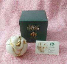 Harmony Kingdom Roly Poly Trinket Box Louis - Elephant Tjrpel New in Box