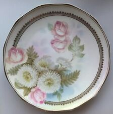 New listing Royal Rudolstadt Prussia Crown B Mark 8 ¼�� Plate Hand Painted Signed