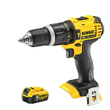 Dewalt DCD785N 18V XR Li-ion 2-Speed Combi Drill With 1 x 5.0Ah DCB184 Battery