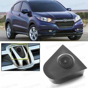Wide Degree CCD Car Front View Camera Logo Embedded for Honda HRV HR-V 2016-2018