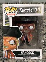 FUNKO POP! GAMES #77 FALLOUT 4 HANCOCK VAULTED VINYL FIGURE BOX DAMAGE
