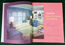 Singer Home Decorations Sewing Book 1961 Mid Century Modern Design 60s Interior