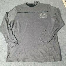 Harley Davidson 110 Year Anniversary Large Adult T-Shirt Black Long Sleeve