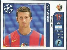 PANINI UEFA CHAMPIONS LEAGUE 2011-12- #177-BASEL-DAVID ABRAHAM