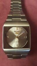 SEIKO 5 MEN'S RETRO STYLE AUTOMATIC  21 JEWELS WATCH