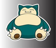 "Pokemon Snorlax removable vinyl decal sticker 12"""