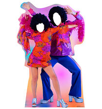 DISCO DANCE COUPLE - LIFE SIZE STAND-IN/CUTOUT BRAND NEW - PARTY 1959