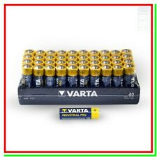 batterie stilo aa alcaline VARTA industrial pro scadenza 2029 pile x40