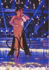 STRICTLY COME DANCING: DAISY LOWE SIGNED 6x4 SEXY ACTION PHOTO+COA **PROOF**