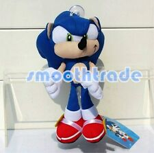 "8"" Sega Sonic the Hedgehog Classic Character Plush Stuffed Doll Toy Rare Style"