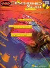 The Diminished Scale for Guitar - Instructional Book and CD NEW 000695227