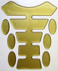 Gold 3d Resin Domed Resin Tank Pad K1 + 6 Oval Pad Protectors