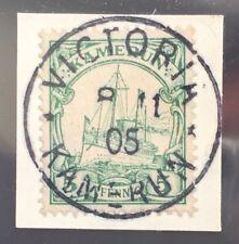 Dt. Kolonien Kamerun Mi. 8 Bfst. perfekter Stempel VICTORIA, tadellos (7003/31)