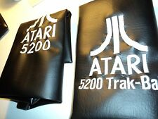 ATARI 5200/ &Trak Ball Dust Covers / These are huge-2 covers for the 80s style.