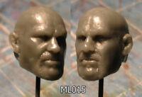 """ML015 Custom Sculpt Cast head use w/6"""" Star Wars Marvel Legends"""