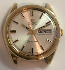 VINTAGE c.1969 Omega Semaster Mens Day Date 36.5mm Automatic Watch 750 168.032
