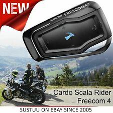 Cardo Scala Rider Freecom 4 Bluetooth Headset¦Motorcycle / Bike Helmet Intercom