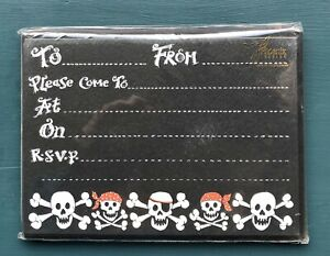 Phoenix Trading Pirate Party Invite Cards x10 IV78