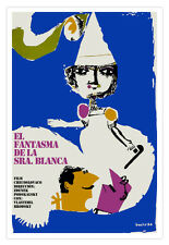Cuban decor Graphic Design movie Poster 4 film GHOST of Mrs.White.Love Art
