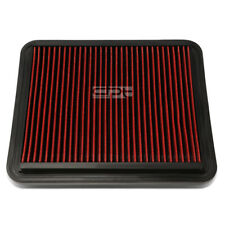 Fit 08-10 Malibu/G6/Dts Red Reusable&Washable High Flow Drop In Air Filter