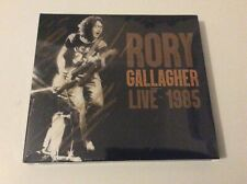 RORY GALLAGHER   LIVE IN 1985 DOUBLE CD DIGIPAK NEW AND SEALED.   H1