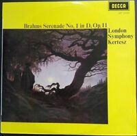Brahms - Serenade No. 1 in D, op. 11, KERTESZ, LSO, Decca LXT 6340