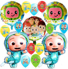 COCOMELON BANNER theme Birthday Party Decoration supplies BALLOON baby shower JJ