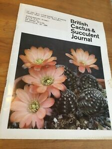 BRITISH CACTUS AND SUCCULENT JOURNAL: VOL. 8 NO. 1 think 1990 from content
