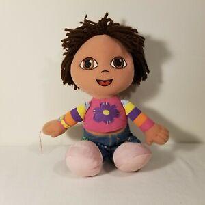Dora The Explorer Plush 2003 Soft & Stylish Dora Doll Toy by Fisher Price