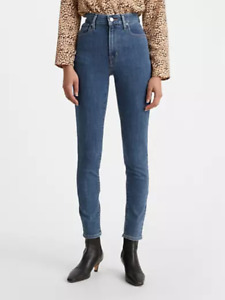 Levis 721 High Rise Skinny Jeans Womens Blue 29X30