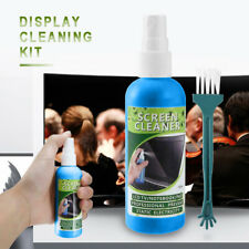 Screen Cleaner Cleaning Tool Kit 100ml LCD Plasma Laptop Tablet Monitor Display