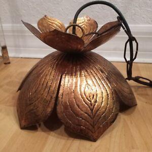Jamie Young Lotus flower Pendant lamp hollywood regency chandelier feldman