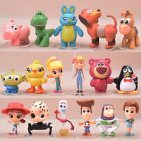 17 Toy Story Woody Buzz Jessie Dinosaur Lotso Action Figure Cake Toppers Kid Toy