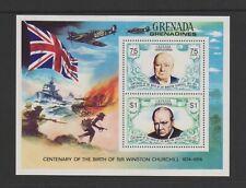 Grenada Grenadines - 1974, Churchill sheet - MNH - SG MS32
