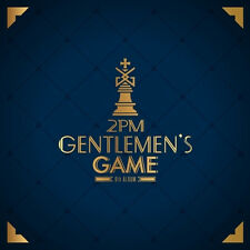 2PM-[GENTLEMEN'S GAME] 6th Album CD+68p Photo Book+1p Card K-POP Sealed