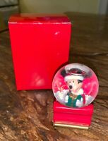 Walt Disney's Mickey Mouse Snow Globe  Made for JC Penney 2003 Excellent