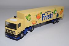 1:50 LION CAR DAF 95 TRUCK WITH TRAILER NUTRICIA FRISTI EXCELLENT CONDITION