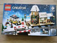 *** Lego Creator 10259 Winterlicher Bahnhof NEU/NEW/OVP/MISB ** BLITZVERSAND **