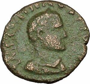 GALLIENUS son of Valerian I RARE Dacia Legions Lion Eagle Roman Coin i40334