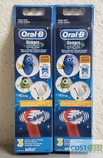 Oral-B Stages Power Replacement Brush Heads Disney Finding Dory 3 ct 2 Pack