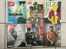 RARE FRENCH JAZZ MAGAZINE LP RECORDS JOURNALS RARE X 6 LOT INC EVAN PARKER