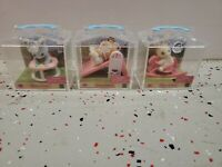 LOT OF 3 NEW CALICO CRITTERS BABIES ON SLIDE AND ROCKING HORSE. FAST SHIPPING!