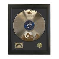 Pink Floyd Shine On You Crazy Diamond Laser Etched Gold LP Record Framed Display