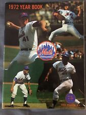 1972 The New York Mets Official Yearbook
