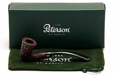 Peterson Calabash Rustic Tobacco Pipe Fishtail