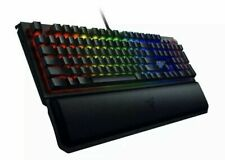 Razer Blackwidow Elite Mechanical Gaming Keyboard Green Black Widow Wrist Rest