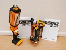 DEWALT Dcf887 18v XR Brushless Impact Driver Bare Unit Dcl050 Worklight